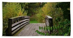 Walking Bridge Beach Towel