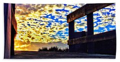 Walkway To Heaven Beach Towel