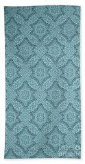 Beach Towel featuring the photograph Wallpaper Blues by Liz  Alderdice
