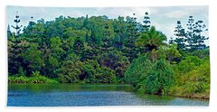 Waoleke Pond Forest Beach Towel