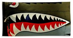 Warhawk Beach Towel by Benjamin Yeager