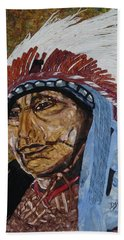 Warrior Chief Beach Towel