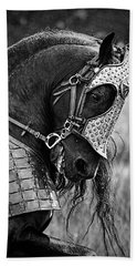 Warrior Horse Beach Towel