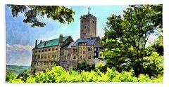 Wartburg Castle - Eisenach Germany - 1 Beach Towel