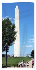 Washington Monument Beach Towel