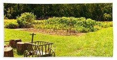George Washington's Garden Beach Sheet
