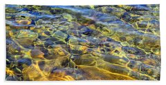 Water Abstract Beach Sheet by Lynda Lehmann