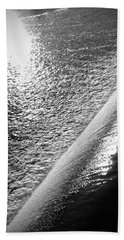 Beach Sheet featuring the photograph Water And Light by Photographic Arts And Design Studio