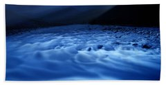 Water Blues Beach Sheet