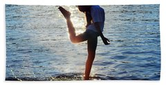 Water Dancer Beach Towel