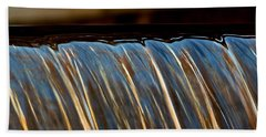 Water Falls Edge 3 Beach Towel