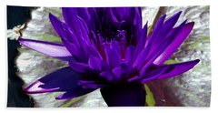 Water Lily 008 Beach Towel