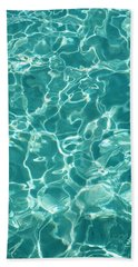 Water Meditation I. Five Elements. Healing With Feng Shui And Color Therapy In Interior Design Beach Towel