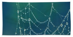 Water Web Beach Towel by Beverly Stapleton
