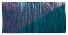 Waterfall Abstract Beach Towel