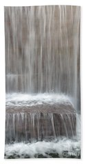 Waterfall At The Fdr Memorial In Washington Dc Beach Towel