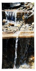 Waterfall Steps Beach Towel