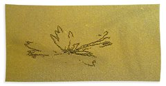 Waterlily By S. Crab Beach Towel by Jocelyn Kahawai