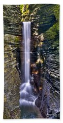 Watkins Glen Cascade Beach Towel