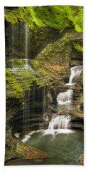 Watkins Glen Rainbow Falls Beach Sheet