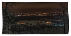 Wausau From On High Beach Towel