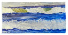 Wave At Bulli Beach Beach Towel