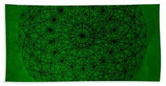 Wave Particle Duality Beach Towel