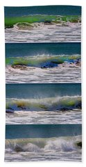 Wave Sequence Beach Towel