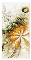 Waves And Pearls Beach Towel