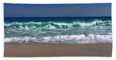 Waves Of Happiness  Beach Towel
