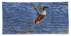 Beach Towel featuring the photograph We Have Liftoff by Gary Holmes