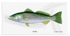 Weakfish Beach Towel