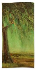 Weeping Willow Beach Towel