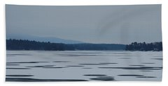Beach Towel featuring the photograph Weirs Beach Nh Almost by Mim White