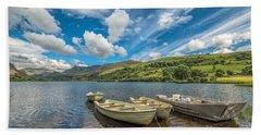 Welsh Boats Beach Towel