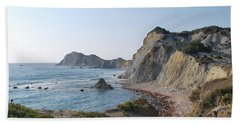 West Erikousa 1 Beach Towel by George Katechis