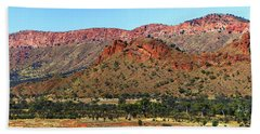 Western Macdonnell Ranges Beach Towel