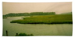 Wetlands Beach Towel by Amazing Photographs AKA Christian Wilson