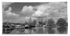 Wey Canal Ripley Surrey Beach Towel