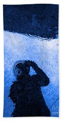 When The Rain Comes Beach Towel by Robyn King