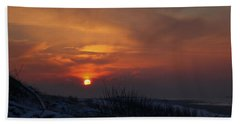When The Sun Goes Down  Beach Towel