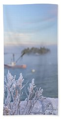 Where Morning Glories Grow Beach Towel