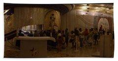 Where San Pio Rests Beach Towel