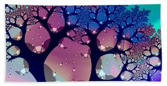 Whimsical Forest Beach Sheet