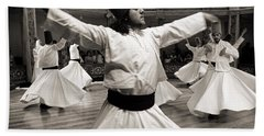 Whirling Dervishes Beach Sheet