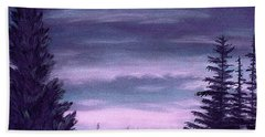 Whispering Pines Beach Towel