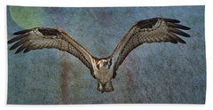 Whispering To The Moon Beach Towel
