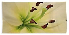 White Lily Pp-6 Beach Sheet