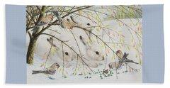 White Rabbits Beach Sheet