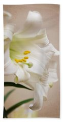 White Softness Beach Towel